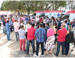 Governadora entrega novos veículos para melhorar a estrutura de trabalho da secretaria de Saúde