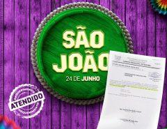 Prefeitura de Macaíba atende solicitação dos vereadores e realiza São João em praça pública