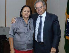 """Reunião entre Fátima e Paulo Guedes teria sido """"desastrosa"""", diz Folha"""