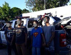 PM flagra quadrilha em desmanche de veículos em Parnamirim/RN