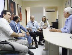 Membros da Comissão de Saúde da Assembleia visitam Hospital Varela Santiago