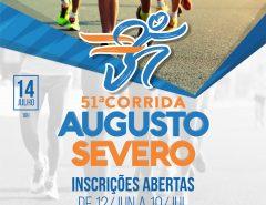 51ª Corrida Augusto Severo está com inscrições abertas