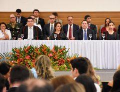Presidente da Assembleia e deputados participam da posse do procurador Eudo Leite no Ministério Público
