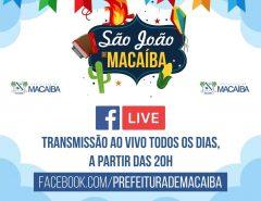 Macaíba: São João ao vivo!