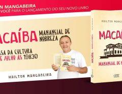 Convite: lançamento do novo livro de Hailton Mangabeira