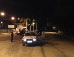 PM faz barreiras em operação para combater a criminalidade em Macaíba
