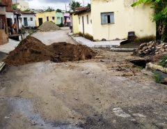 Aviso: Rua Baltazar Marinho, em Macaíba, interditada