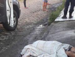 Homem é assassinado a tiros em via pública em Macaíba
