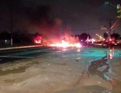 Protesto contra a reforma da Previdência fecha rodovias no RN