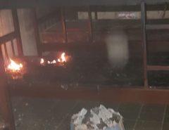 Incêndio atinge dormitório de escola em Mangabeira, zona rural de Macaíba
