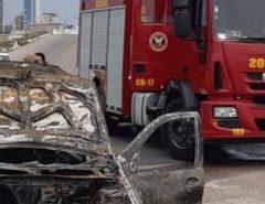Em 2019, Bombeiros já combateram 74 incêndios em veículos em Natal e região