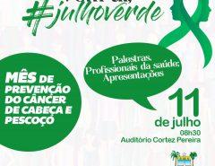 Assembleia Legislativa promove ação de conscientização para combate ao câncer de cabeça e pescoço