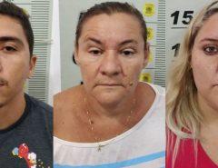 Polícia Civil prende trio em SP por crimes cometidos no RN