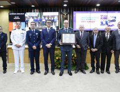 185 anos da Policia Militar é celebrado com homenagem na Assembleia Legislativa