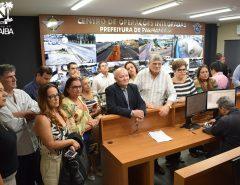 Informe Publicitário: Prefeito prestigia inauguração do COI de Parnamirim e discute parcerias