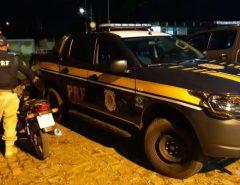 PRF recupera motocicleta roubada em Macaíba