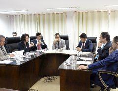 CCJ realiza reunião extraordinária e  aprova matéria que altera lei do ICMS