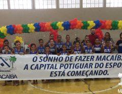 Atleta olímpica vem à Macaíba entregar novos uniformes de projeto de ginástica
