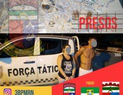 PM detém casal de traficantes em Parnamirim/RN