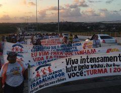 Após dois meses, voluntários em vigília contra suicídios deixam Ponte Newton Navarro, em Natal