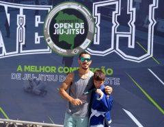 Estudante de escola municipal de Macaíba conquista terceiro lugar no Nordeste Open de Jiu-jitsu