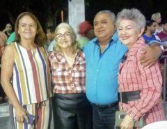 Presidente da Câmara Municipal Gerson Lima participa do encerramento do São João de Macaíba
