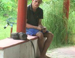 Comunidade do Lamarão, em Macaíba, é surpreendida com a presença de um desconhecido; homem aparenta ter transtornos mentais