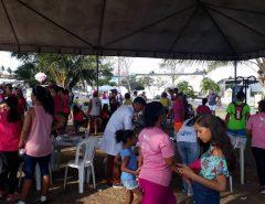 """Projeto """"Anjos de Branco"""" completa um ano de ações voltadas a prevenção e promoção da saúde em Macaíba"""
