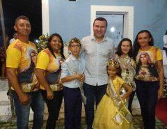 Emídio Jr. participa do encerramento da Festa da Padroeira de Cana Brava