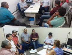 Vereadores Igor Targino e Gerson Lima reúnem comissão de comerciantes para reunião com secretários