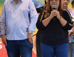 Vereadora Ana Catarina acompanha inauguração de pavimentação em Lagoa do Mato