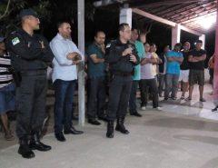 Reunião sobre Segurança Pública é realizada no Distrito de Cajazeiras
