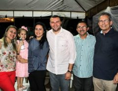 Deputado Hermano Morais prestigia festa de Nossa Senhora de Santana, em Traíras