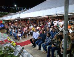Emídio Jr. participa do encerramento da Festa de Sant'Ana, em Traíras