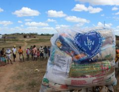 Famílias em situação de pobreza do RN serão assistidas pela LBV