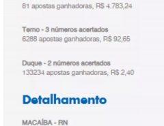 Aposta feita em Macaíba ganha mais de  R$ 1 milhão no jogo da Quina