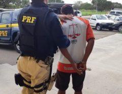 PRF prende foragido da Justiça em São José de Mipibu