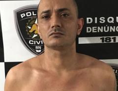 Polícia Civil prende em Parnamirim suspeito de homicídio contra a mãe