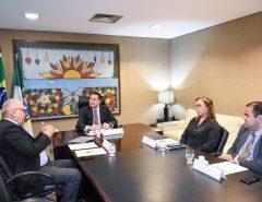 Diretor do DER solicita Fundo de Conservação Rodoviária em reunião com Ezequiel