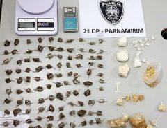 Polícia Civil prende homem por tráfico de drogas em Parnamirim