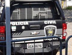 Polícia Civil prende suspeito de matar e queimar corpo de motorista de aplicativo dentro de carro no RN