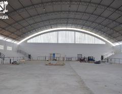 Reforma de ginásio da Vila São José prossegue e está em fase avançada