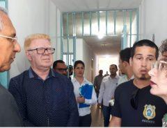 Comissão de Direitos Humanos da Assembleia visita Presídio de Parnamirim