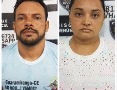 Polícia Civil prende casal por tráfico de drogas em Parnamirim