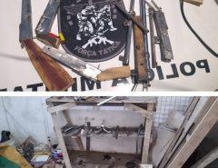 PM desarticula fábrica clandestina de armas em Parnamirim