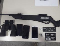 Polícia Civil deflagra operação e prende três homens em Caicó