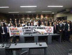 Ampern, Amarn, Adepol e outras entidades realizam ato pelo veto do PL do abuso de autoridade