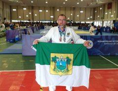 Agente penitenciário do RN conquista medalhas em campeonato internacional