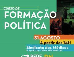 Grupo Macaíba é Nossa participará do Curso de Formação Política do REDE
