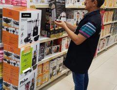 Operação Cozinha Segura: IPEM/RN fiscaliza mais  de dois mil itens em lojas de todo o RN